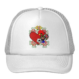 O Amor A Portugal - Selecção das Quinas Trucker Hat