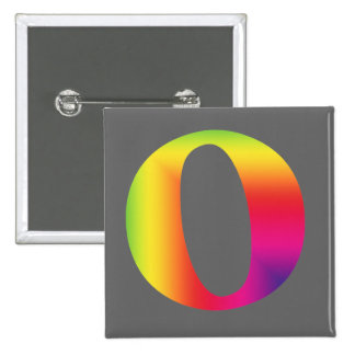 O And Or Whole Musical Note Represented Pinback Button