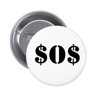 $O$ anyone out there 6 Cm Round Badge
