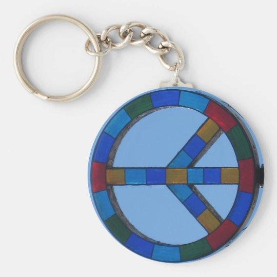 O.B. Peace Sign keychain