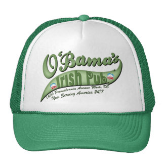 O bama s Irish Pub Trucker Hats