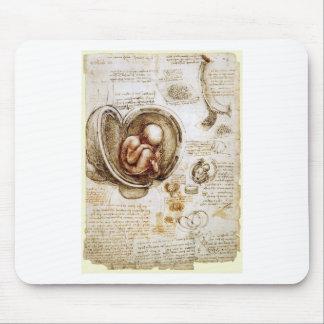 O bebe de Da Vinci Mouse Pads