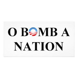 O BOMB A NATION CUSTOM PHOTO CARD