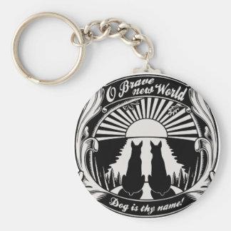 O Brave New World Key Ring