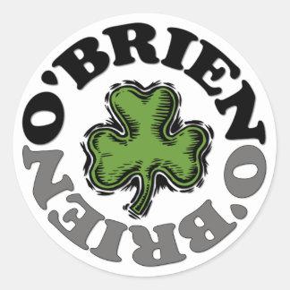 O Brien Sticker