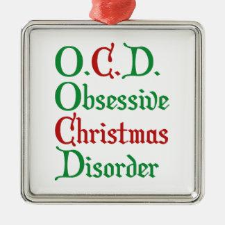 O.C.D. Obsessive Christmas Disorder Christmas Ornament