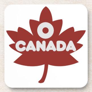 O Canada Beverage Coasters