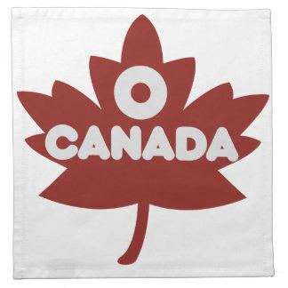 O Canada Cloth Napkins