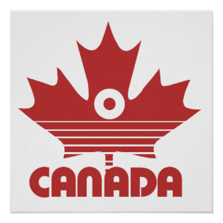 O Canada Day Poster