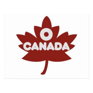 O Canada Postcards