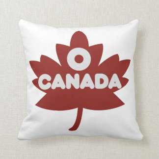 O Canada Throw Pillows