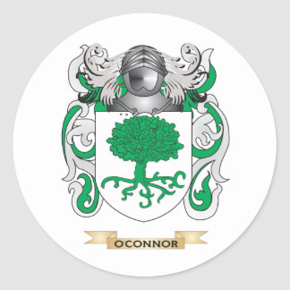 O Connor Coat of Arms Family Crest Sticker