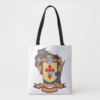 """O""""Donnell Family Crest_Wisconsin Tote"""