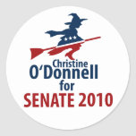 O'Donnell for Senate Round Stickers