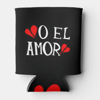 O El Amor Can Cozy Can Cooler