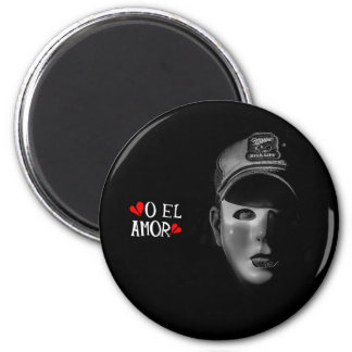 O El Amor Don Corazon Destrozado Magnet
