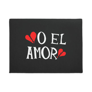 O El Amor Door Mat