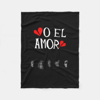 O El Amor Fleece Blanket