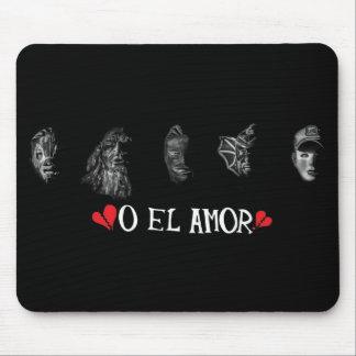 O El Amor Mouse Pad