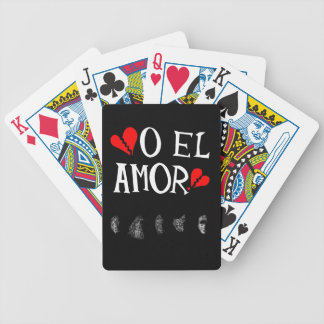 O El Amor Playing Cards by Bicycle