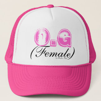 O.G, (Female), by Ellington Wells Trucker Hat