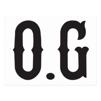 O.G original gangster Postcard