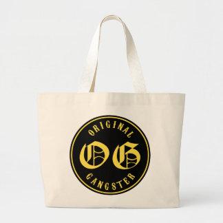 O.G. Original Gangster Jumbo Tote Bag