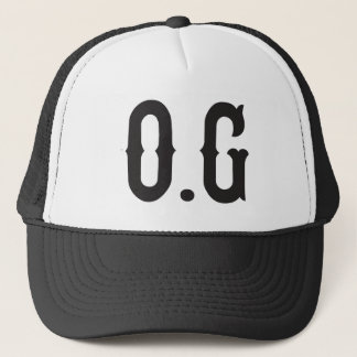 O.G original gangster Trucker Hat