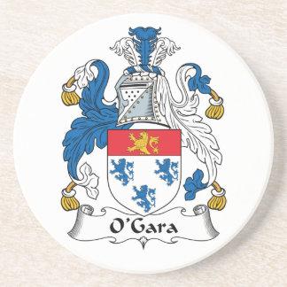 O Gara Family Crest Beverage Coasters