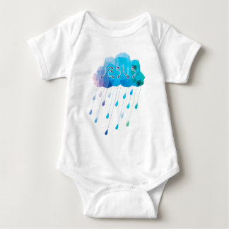 O God, didst send a plentiful rain Baby Bodysuit