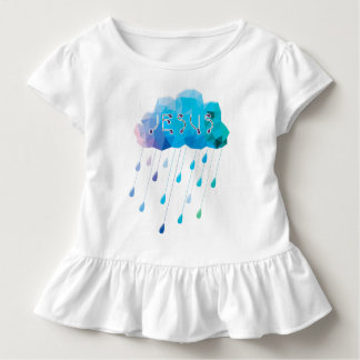 O God, didst send a plentiful rain Toddler T-Shirt