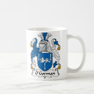O Gorman Family Crest Coffee Mugs