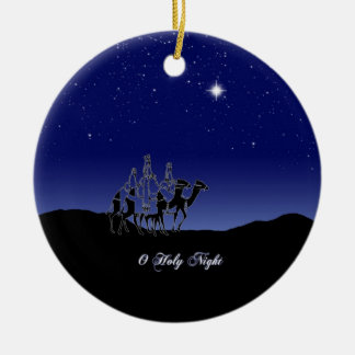 O Holy Night Christmas Ornament