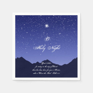 O Holy Night Paper Napkins
