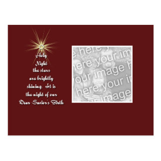 O Holy Night Postcard