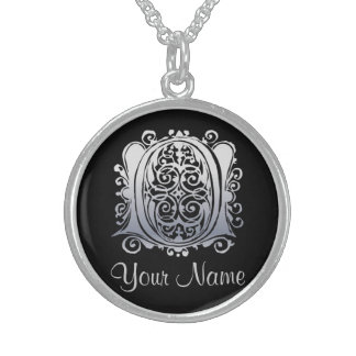 O Initial with Your Name Necklace Jewelry