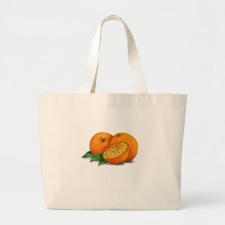 O is for Oranges Jumbo Tote Bag