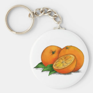O is for Oranges Keychain