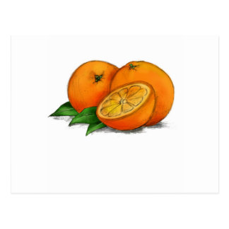 O is for Oranges Postcards