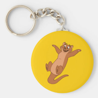 O is for Otter Key Ring