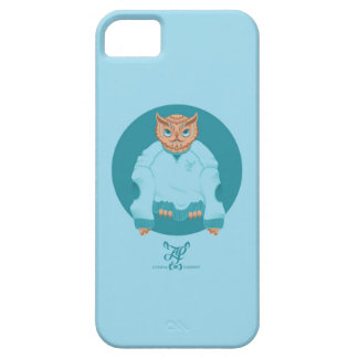 O is for Owl in an Oversized sweatshirt iPhone 5 Cases