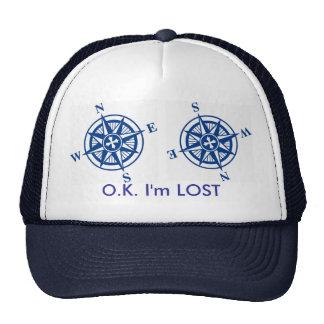 O K Im lost Hat