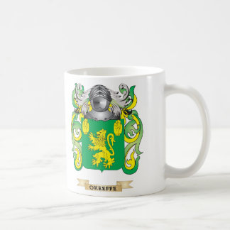 O Keeffe Coat of Arms Family Crest Mugs