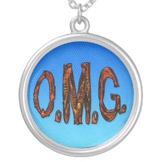O.M.G. Cool Phrase Popular Saying Symbol Pendant