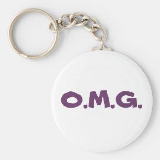 O M G Keychain