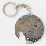 O Muro das Lamentações em Jerusalém, Cidade Santa Chaveiro