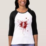 O Negative Blood Type Donation Vampire Zombie Shirts