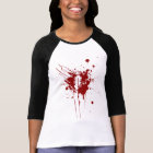 O Negative Blood Type Donation Vampire Zombie T-Shirt