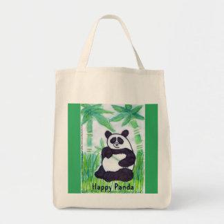 O.O. Happy Panda Organic Bag