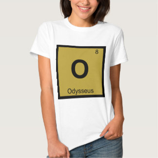 O - Odysseus Chemistry Periodic Table Symbol Greek T Shirt